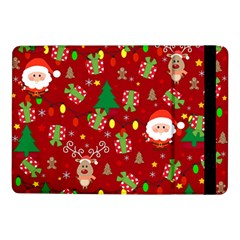 Santa And Rudolph Pattern Samsung Galaxy Tab Pro 10 1  Flip Case by Valentinaart