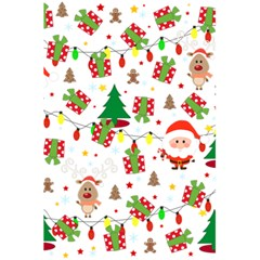 Santa And Rudolph Pattern 5 5  X 8 5  Notebooks by Valentinaart