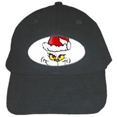 Grinch Black Cap by Valentinaart