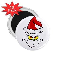 Grinch 2 25  Magnets (10 Pack)  by Valentinaart
