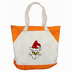 Grinch Accent Tote Bag by Valentinaart