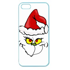 Grinch Apple Seamless Iphone 5 Case (color) by Valentinaart
