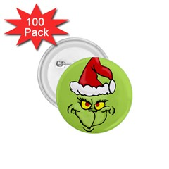 Grinch 1 75  Buttons (100 Pack)  by Valentinaart