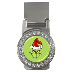 Grinch Money Clips (cz)  by Valentinaart