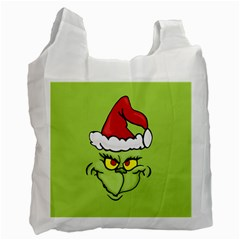 Grinch Recycle Bag (one Side) by Valentinaart