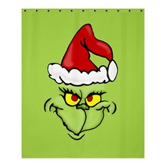 Grinch Shower Curtain 60  X 72  (medium)  by Valentinaart