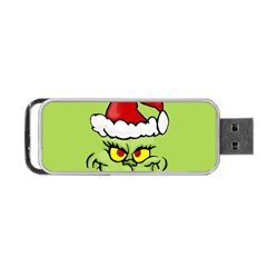 Grinch Portable Usb Flash (two Sides) by Valentinaart