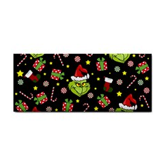 Grinch Pattern Cosmetic Storage Cases by Valentinaart