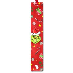 Grinch Pattern Large Book Marks by Valentinaart