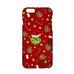 Grinch Pattern Apple Iphone 6/6s Hardshell Case by Valentinaart