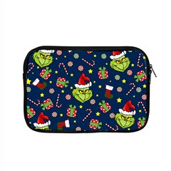 Grinch Pattern Apple Macbook Pro 15  Zipper Case by Valentinaart