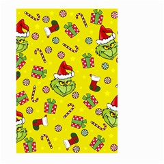 Grinch Pattern Large Garden Flag (two Sides) by Valentinaart