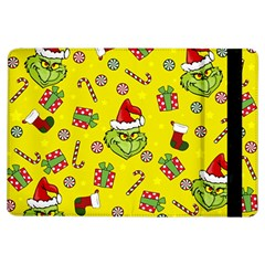 Grinch Pattern Ipad Air Flip by Valentinaart