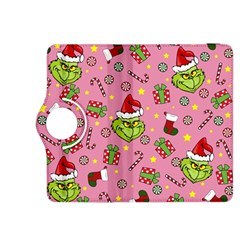 Grinch Pattern Kindle Fire Hdx 8 9  Flip 360 Case by Valentinaart