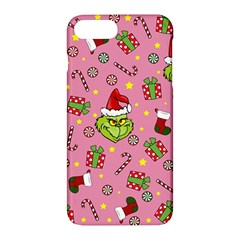 Grinch Pattern Apple Iphone 7 Plus Hardshell Case