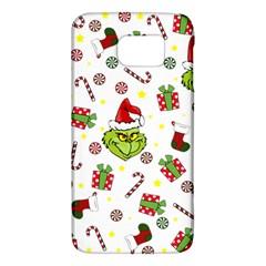 Grinch Pattern Galaxy S6 by Valentinaart