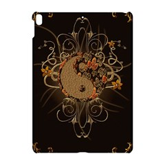 The Sign Ying And Yang With Floral Elements Apple Ipad Pro 10 5   Hardshell Case by FantasyWorld7
