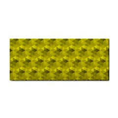 Hexagon Cube Bee Cell  Lemon Pattern Cosmetic Storage Cases by Cveti