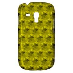 Hexagon Cube Bee Cell  Lemon Pattern Galaxy S3 Mini by Cveti