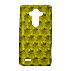 Hexagon Cube Bee Cell  Lemon Pattern Lg G4 Hardshell Case by Cveti