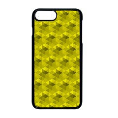 Hexagon Cube Bee Cell  Lemon Pattern Apple Iphone 8 Plus Seamless Case (black) by Cveti