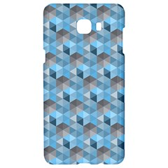 Hexagon Cube Bee Cell  Blue Pattern Samsung C9 Pro Hardshell Case  by Cveti
