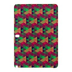 Hexagon Cube Bee Cell Pink Pattern Samsung Galaxy Tab Pro 10 1 Hardshell Case by Cveti