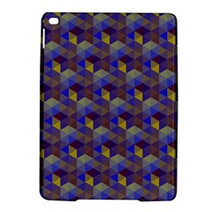 Hexagon Cube Bee Cell Purple Pattern Ipad Air 2 Hardshell Cases by Cveti