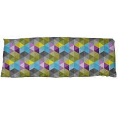Hexagon Cube Bee Cell 1 Pattern Body Pillow Case Dakimakura (two Sides) by Cveti