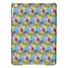 Hexagon Cube Bee Cell 1 Pattern Ipad Air Hardshell Cases by Cveti