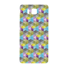 Hexagon Cube Bee Cell 1 Pattern Samsung Galaxy Alpha Hardshell Back Case by Cveti