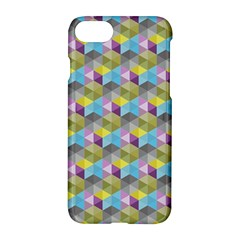 Hexagon Cube Bee Cell 1 Pattern Apple Iphone 8 Hardshell Case by Cveti