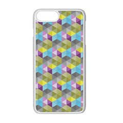 Hexagon Cube Bee Cell 1 Pattern Apple Iphone 8 Plus Seamless Case (white) by Cveti