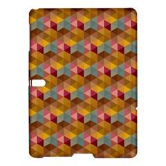 Hexagon Cube Bee Cell 2 Pattern Samsung Galaxy Tab S (10 5 ) Hardshell Case  by Cveti