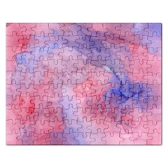 Mr  Hughes Blues Rectangular Jigsaw Puzzl by SimpleBeeTree