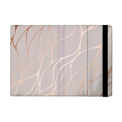 Rose Gold, Wave,beautiful,feminine,chic,elegant,metallic,modren,wedding,pink,trendy Ipad Mini 2 Flip Cases by 8fugoso