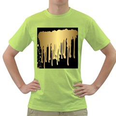 Drip Cold Green T Shirt by 8fugoso
