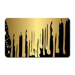 Drip Cold Magnet (rectangular) by 8fugoso