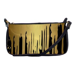Drip Cold Shoulder Clutch Bags by 8fugoso