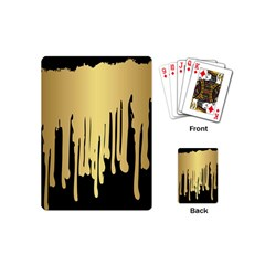 Drip Cold Playing Cards (mini)  by 8fugoso