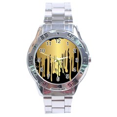 Drip Cold Stainless Steel Analogue Watch by 8fugoso