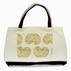 All Cards 36 Basic Tote Bag by SimpleBeeTree