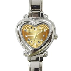 Gold8 Heart Italian Charm Watch by 8fugoso