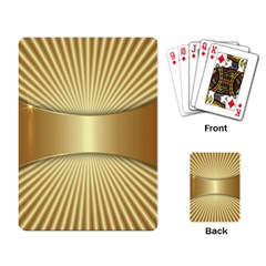 Gold8 Playing Card by 8fugoso