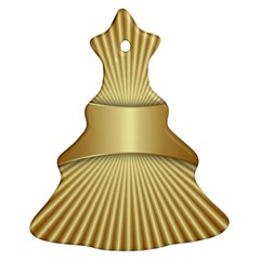 Gold8 Christmas Tree Ornament (two Sides) by 8fugoso