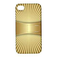 Gold8 Apple Iphone 4/4s Hardshell Case With Stand by 8fugoso