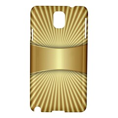 Gold8 Samsung Galaxy Note 3 N9005 Hardshell Case by 8fugoso