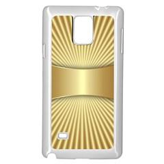 Gold8 Samsung Galaxy Note 4 Case (white) by 8fugoso