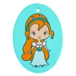 Tiny Princess CutiE Oval Ornament