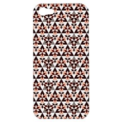 Snowflake With Crystal Shapes 2 Apple Iphone 5 Hardshell Case by Cveti